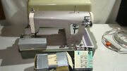 Vintage Sears/kenmore 148.295 Sewing Machine With Foot Pedal Case Accessories