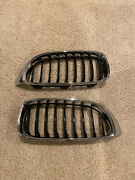 Oem Front Kidney Grille Grill And Side Badges For 2015-2018 Bmw F80 M3 / F82 M4