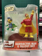 The Simpsons - Radioactive Man And Fall Out Boy - Mcfarlane Toys - New In Box 2007