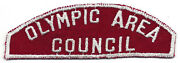 Olympic Area Council Rws Randw Red And White Strip