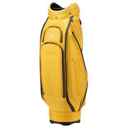 Mercedes Benz X Titleist Golf Club Bag Mustard Color Limited New Japan Shipping