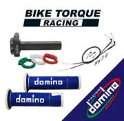 Domino Xm2 Quick Action Throttle Kit With A450 Grips To Fit Tomos Bikes