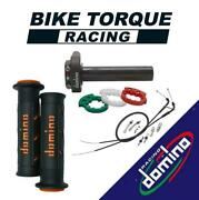 Domino Xm2 Quick Action Throttle Kit With Super Soft Grips For Jialing Bikes