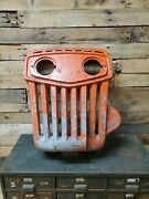 Vintage Tractor Grille Stream Punk Industrial Wall Art