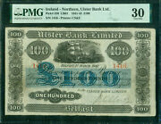 Ulster Bank Limited Northern Ireland Andpound100 Belfast 1 March 1941 Pick 320 Pmg 30