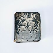Antique Silver Mounted Common Prayer Book London Eyre And Spottiswoode