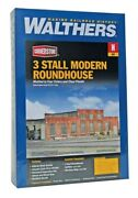 Walthers N Scale 3-stall Modern Roundhouse