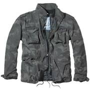 Brandit Giant M65 Jacket Dark Camo Mens Field Military Army Coat With Liner