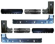 Inner And Outer Rocker Panel And Cab Corner Kit For 99-16 Ford Super Duty Super Cab