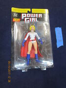 Cc13_4 Dc Direct Lot Jsa Power Girl Justice Society Of America Yellow Banner