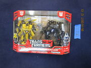 Cc12_6 Transformers 2007 Movie Lot Bumblebee Vs Barricade First Encounter 2 Pack