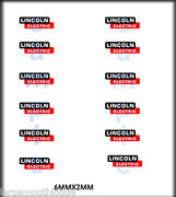 New Peel And Stick Rsp Boley 1/87 Ho Scale Vehicle Door Decals Lincoln Electric