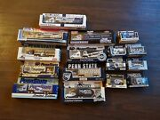 16pc Ncaa Football Collectible 93-03 Penn State Die Cast Tractor Trailer Truck
