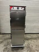 Heated Food Warmer Hot Box Holding Cabinet Bevles Nsf Transport Warming 5067