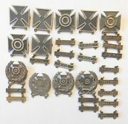 29 Pc Ww2 Infantry Sterling Silver Badges Sharpshooter Marksman Rifle Coast Arty