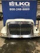 White International 8600 Hood Assembly W/ Grille, Headlamp And Mirror