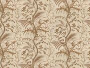 10y Brunschwig And Fils Bird And Thistle Screen Print Beige Special