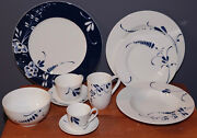 Villeroy And Boch Vieux Luxembourg Brindille - Dinnerware Set 57 Pieces For 6
