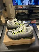 Brand New Nike Air Max 95 Og Neon Green 2012 Size 10.5 554970-174