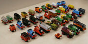 Lot Of 38 Thomas The Train Metal Diecast Trains And Vehicles Battery Operated