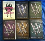 Vampire Academy Series By Rochelle Mead Books 1-6 Complete