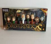 The Lord Of The Rings Pez Dispenser Set