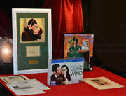 Gone With The Wind Signed Vivien Leigh Frame Uacc Program Doll Dvd Box Set