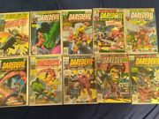 Bronze Age Daredevil The Man Without Fear Comic Lot 144-146 149 154-156