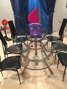 Andldquodinner For Eightandrdquo Dining Room Table With 6 Chairs