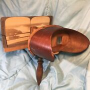 Vintage Stereograph With Lot Of 42 View Cards