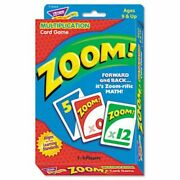 Trend Zoom Math/manipulatives Card Game Ages 9 And Up Each Tept76304