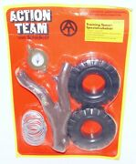 Action Man Team Training Tower Upgrade Set 12 Doll Accessorie Set Moc`75 Rare
