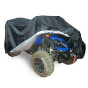Universal Quad Bike Atv Atc Rain Waterproof Cover Uv Protector Xxl 220x98x106cm