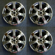 4pcs 🔥20 Wheels With Chrome Clad Cover For 10-13 Cadillac Srx Oem Quality 4666