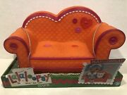 Retired Lalaloopsy Orange Couch With Pink Trim