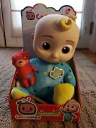 New Cocomelon Roto Jj Doll Bedtime Soft 10 Plush Sing Toy. 3 Day Shipping