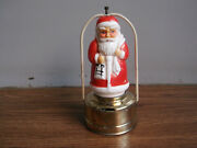 Old Vintage, Battery Powered Santa Claus Toy Lantern Of 50's, Made In Japan.