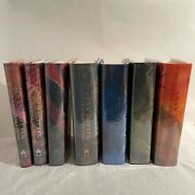 The Complete Set 7 Books First Edition Harry Potter Series Mint Condition