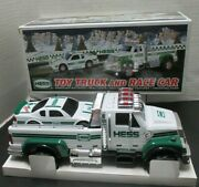 Hess Oil Company 2011 Toy Truck And Race Car - Model - Vintage - New In Box