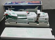 Hess Oil Company 1999 Toy Truck And Space Shuttle With Satellite-nib Lights Andsound