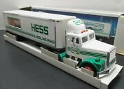 Hess Oil Company 1992 18 Wheeler And Racer Toy Truck Model Vintage - New In Box