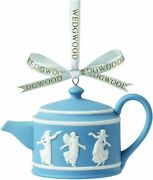 Wedgwood Dancing Hours Teapot Ornament New In The Box