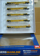 Walthers 910-55635 Ho Dttx Thrall 5-unit Rebuilt 40' Well Car 748535