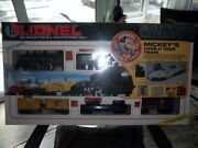 Lionel Mickeyand039s World Tour Train 1992 Set 6-11721 Sealed In Orig. Box