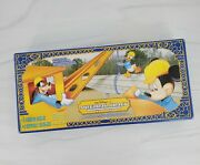 Walt Disney World Parks Monorail Toy Accessory 4 Curved Beams 4 Support Columns