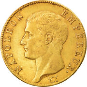 [875588] Coin France Napolandeacuteon I 40 Francs An 13 Paris Ef Gold Km664.1