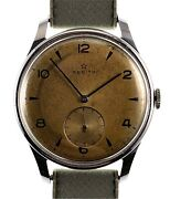 Zenith 1948 Cal 126 Tropical Dial Serviced With 6 Month Warranty