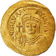[890492] Coin, Maurice Tiberius, Solidus, 583-602, Constantinople, Ms, Gold