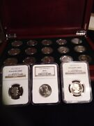1979 -1999 Susan B. Anthony Dollar 18 Set W Proofs And Ngc 1979- 1981 Type 2
