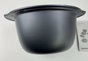Tupperware Ultra Pro Oval Oven Safe 2.5l Round Microwave Safe Dish Bowl Only New